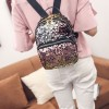 Mojoyce Women All Match Pu Leather Backpacks Small Girls School Bags Travel Princess Bling Backpacks New Arrival Extra Image 6