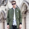 New army green autumn winter jacket coat men brand clothing top quality Male cotton coat fashion casual Extra Image 1