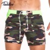 New Camo Swimming Surfing Shorts Swim Boxer Basic Camo Taddlee Swimwear Plus Size Boxer Trunks For Males
