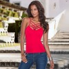 New Fashion Tank Tops Women Camisole Vest Simple Stretchable Ladies Slim Sexy Strappy Camis Tops Casual Camis Extra Image 2
