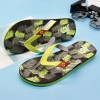 New Leaf Printed Slippers Flip Flops For Men Latest 2018 Slippers Beach Style Household Sandals For Men Extra Image 4