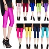 New Sexy Solid Candy Neon Summer High Stretched Jeggings Fitness For Women Thumbnail