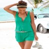 New Summer Sleeveless Jumpsuits For Women Sexy Beach Outfits Playsuits Off Shoulder Bodysuits Extra Image 3