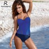 One Piece Swimsuit Sexy Women Push Up Swimwear Solid Bodysuit Bandage Cut Out Beach Bathing Suit Monokini Extra Image 5