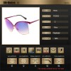 Oversized Women Sunglasses Luxury Cat Eye Big Frame Sexy Fashion Female Sun Shades Fully Customized Eyewear Extra Image 5
