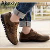 Plus Size 44 48 Autumn Spring Men Shoes Gauze Breathable Shoes Men Large Size Casual Outdoor Flat Sports Shoes Extra Image 1