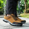 Plus Size Male Footwear Casual Shoes High Quality Climbing Hiking Trekking Shoes Wear Resistant Slip On Footwear Extra Image 4