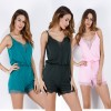 Sleeveless Crochet Beach Summer Clothes Jumpsuits Rompers For Women Cool Sexy Backless Bodycon Bodysuits