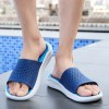 Stylish Men Slippers Men Slides Fashion Summer Casual Beach Flip Flops Shoes Non Slip Indoor House Home Slippers Extra Image 3