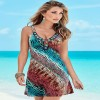 Summer Beach Tunic For Women Bathing Suit Beach Outfits Low Cut Slip Sarong For Females