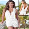 Summer Beach Wear Dresses Sleeveless Jumpsuits Sexy Backless Bodycon Bodysuit Rompers For Women Extra Image 3