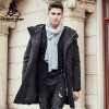 Thick winter down jacket men warm New Fashion brand clothing Top quality Long Male Pure White duck down coat Extra Image 1