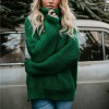Turtleneck Knitting Thick Sweater Women Solid Winter Clothes Long Sleeve Loose Korean Warm Pullover Sueter Mujer Extra Image 5