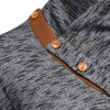 Warm Pullover Stand Collar Knitted Men Fashion Tracksuit Male Sweatshirt Hoody Mens Multi Purpose Tour Outfit Extra Image 4