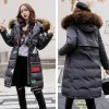 Warm Thick Winter Jacket Women Hooded Long Both Sides Wearable Street Wear Female Parka Parkas Coat Cotton Padded Extra Image 5