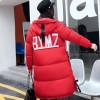 Winter Coat Women Parka Long Thick Warm Jacket Hooded Parkas Female Cotton Padded Outerwear Clothing Extra Image 2