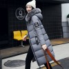 Winter Jacket Women Parka New Fur Collar Cotton Padded Coats Women Parkas Long Slim Thickened Warm Overcoat Extra Image 3