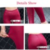 Women Pu Leather Slim Fit Push Up Punk Shiny Sexy Leggings Hot Look Stretchable Pants For Women Extra Images 5