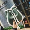 Women Pu Suede Soft Leather Bag Vintage Women Messenger Bag Shoulder Backpack Bucket Female Winter Bag Extra Image 4