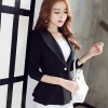 Women Suit  Short Blazer Coat Long Sleeves Suits Female Coat Slim Blazers Formal Fashion Office Jacket Femme Blazer Extra Image 3