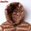 Womens Down Jackets Winter Coat Feather Jacket Down Parka Loose Womens Coats Hooded Outwear Casual Clothing For Women Extra Image 6