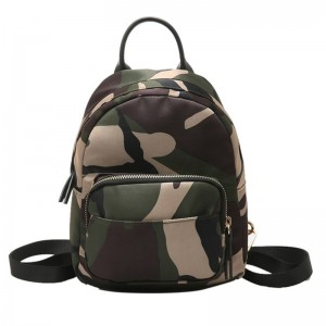 2018 Camo Backpacks Waterproof Nylon Ladies Backpacks Female Casual Travel Bags Camouflage Rucksacks Backpacks