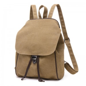 2018 New Casual Canvas Women Backpack Retro Vintage female Students School Bags Shoulder Bags Tote Handbags