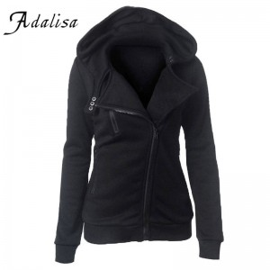 Adalisa Hoodies Sweatshirts Long Sleeve Zipper Tracksuit Streetwear Women Thumbnail