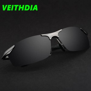 Aluminium Magnesium Polarized Sunglasses Driving Summer New Design Men Thumbnail