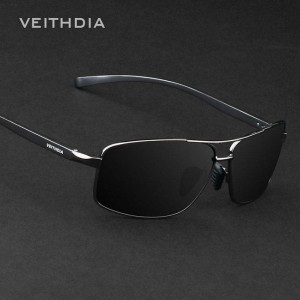 Aluminium Polarized Mens Sunglasses Veithdia Eye Accessories For Boys Adult Unisex Official Rectangle Shades