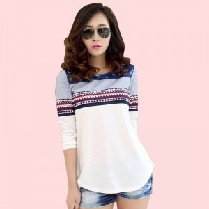 Autumn Winter Long Sleeve Tops Cotton High Quality Winter Wear Latest For Women