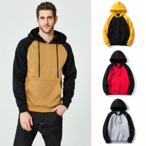 Autumn Winter Women Men Hooded Sweatshirts New Fashion Patchwork Hip Hop Skateboard Coat Jackets Sweatshirts Pullover