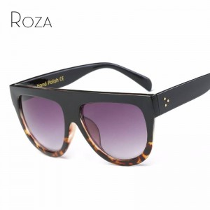 Big Frame Teens Sunglasses For College School Girls Rivet Decoration On Temple Summer Style Shades For Women