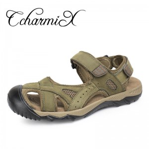 Big Size Luxury Brand Men Sandals Summer News Fretwork Fisherman Shoes Retro Gladiator Men Casual Beach Sandals