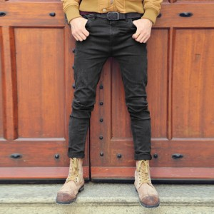 Black skinny jeans men solid denim ripped jeans for men new casual stretch man brand jeans Cotton pantalon homme