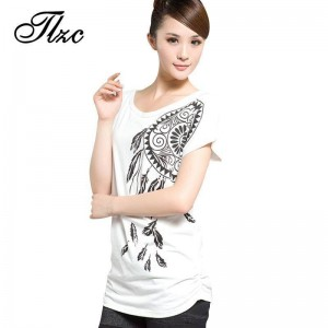 Brief Leisure Style Women Fashion T Shirts Plus Size Casual Tees New Trend Printed Loose Fit For Ladies Thumbnail
