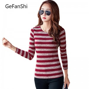Cheap New Arrival Women Tees Summer Spring Autumn O Neck Cotton Shirts For Women Thumbnail