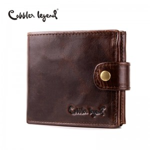 Cobbler Legends Genuine Leather Short Wallets Purses Latest For Men Thumbnail