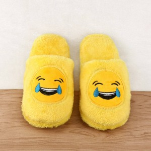 Cute Unisex Warm Plush Indoor Shoes House Slippers Winter Autumn For Women Thumbnail