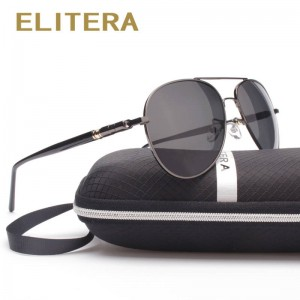 Elitera New Arrival Polarized Men Sunglasses Aviator Look New Design Men Thumbnail