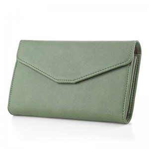 Envelope Wallet Purse PU Leather Design Wallets Small Purse Women Wallet For Travel Phone Bags