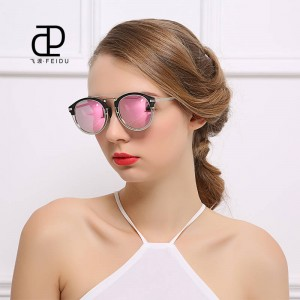 Fashion Luxury Polarized Sunglasses For Women Round UV400 Polarized Driving Outdoor Sun Shades