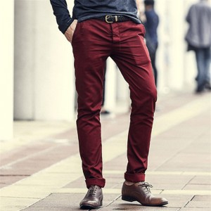 Fashion New High quality Casual cargo Mens pants winter business design cotton trousers men long pants