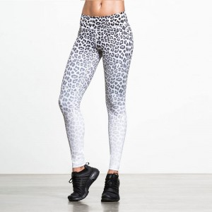 Fashion New Push Up Legging Leopard Print High Quality Leggings Girl Polyester Spandex Legging Fitness Pants