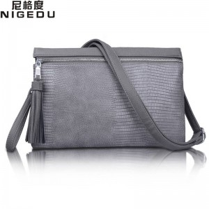 Fashion Tassel Serpentine Women Clutch Crossbody Bags Evening Luxury Clutches Bags New Arrival For Women Thumbnail