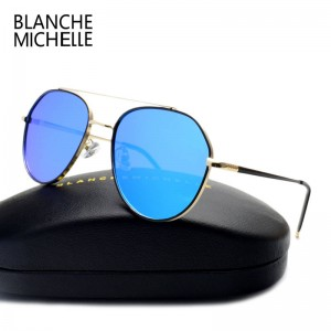 Female Polarized Sunglasses High Quality Designer UV400 Sunglasses Polarized Anti Radiation Cycling Shades