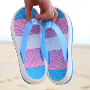 Female Thick Heel Slipper Shoes Platform Bath Shoes Women Wedge Slippers Beach Flip Flop Platform Sandals Shoes