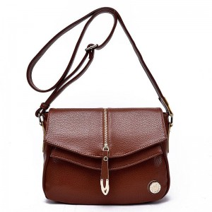 Genuine Leather Women Fashion Bags Handbags Vintage Shoulder Bags Crossbody Small Travel Bags Women Thumbnail