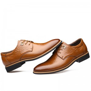 Handmade Genuine Leather Shoes Business Party Wedding Office Wear For Men Thumbnail