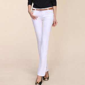 Hee Grand New York Trend Women Long Pants Casual Wear Denim Trousers New Design For Women Thumbnail